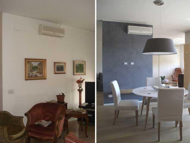 Ristrutturazione degli interni e interior design casa a for Design per tutti